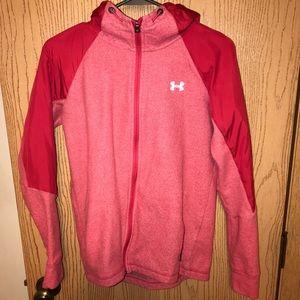 Women's thermal heat gear zip up hoodie